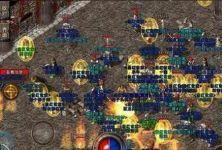 超级变态传奇手游里战士和战士PK也需要思考