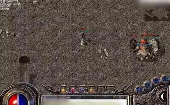 复古传奇中道士如何攻打赤龙将军